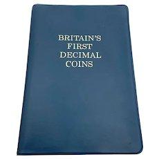 Britain's First Decimal Coin Set