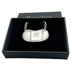 Blank Sterling Silver Decanter Label