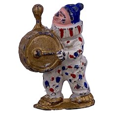Vintage Nifty Circus Clarence the Clown slush lead figure 2.5 inches