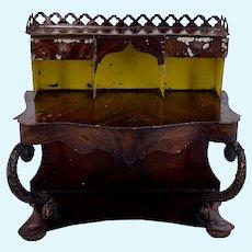 Rock & Graner Bow Front Serpentine Desk or Secrétaire