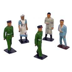 Kay Lead Toys Civilian Hospital Part Set