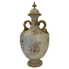 Large Royal Worcester vase circa 1890