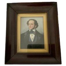 Mendelssohn painting on porcelain