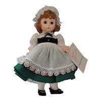 "8"" Madame Alexander Miniature Showcase Ireland"