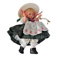 """8"""" Madame Alexander Miniature Showcase Heidi"""