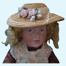 Very Rare Antique German Character Doll, Elise, Kammer & Reinhart 109