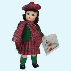 "Madame Alexander 8"" doll Scotland"