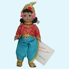 """Vintage 8"""" Madame Alexander Thailand doll"""
