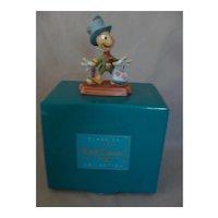 Classic Walt Disney Collection  Jiminy Cricket, Mint in  Box