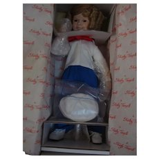 Danbury  Mint Shirley Temple, Captain January, Dolls of the Silver Screen