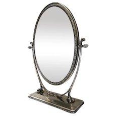 1900 French Cheval Mirror Psyché mirror