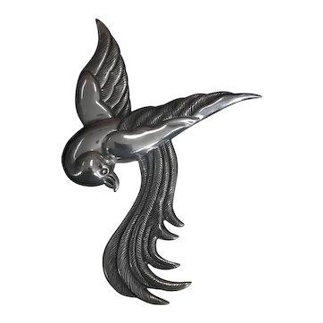 Sterling Silver Cony Taxco Mexico Bird Pin/ Brooch