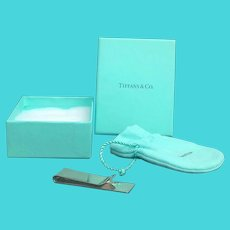 Tiffany & Co Sterling Silver Money clip billet clamp