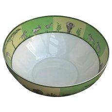 Hermes Africa Green Large Salad Bowl