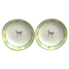 Hermes Africa Green Small Bowls Sauce Bowls set of 2