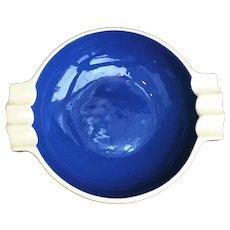Ashtray Blue Mid Century Modern, Zurich, Porcelain Villeroy & Bosch