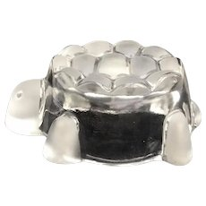 Walther Glas Turtle Tortoise Small Candy Dish Bowl