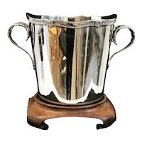 Champagne Bucket Silver Plated Sivar 1920s