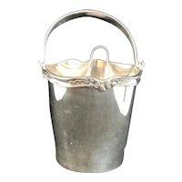 Ice Bucket Silver Plated Sivar 1920s