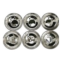 Finger bowls silver plated