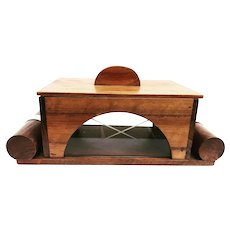 Art Deco Wooden Box with Lid