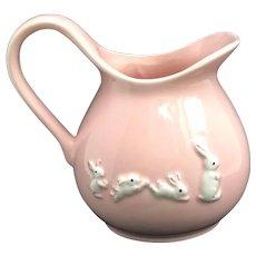 Vintage Milk Pitcher Water Ceramic