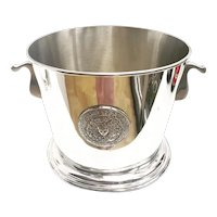 Champagne Bucket Large 3 bottles Silver Plated