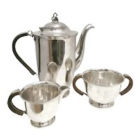 Coffee set or tea set silver plated Danish Design Scandinavian