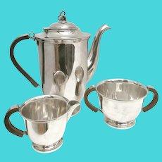Coffee set or tea set silver plated Danish Design Scandinavian