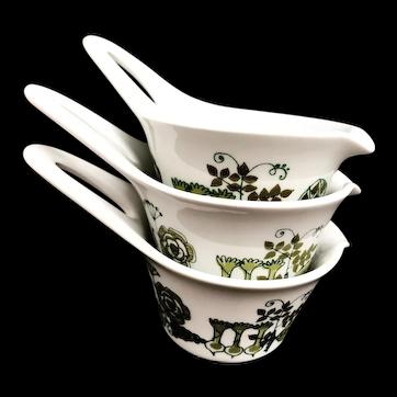 Figgjo Flint Market small handled bowl set 3
