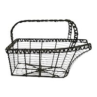 Wine cradle wrought iron bottle holder bottle stand wire rustic