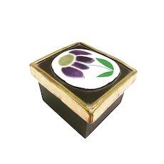 Mithé Espelt Box Vintage Jewelery Ceramic