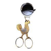 Egg cutter Vintage Hen Chicken Soft Boiled Egg Cutter Scissors Solingen Germany