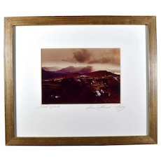 Original Modern Irish Art Photo an Laithreach, Co Kerry Signed Dermot O'Dowda