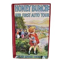 """Vintage Children's Book ~  """" Honey Bunch: Her First Auto Tour"""" by Helen Louise Thorndyke ~ Published by Grosset and Dunlap 1926"""