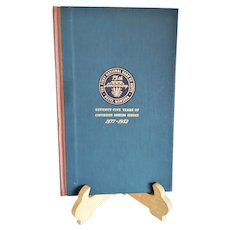 """Vintage Historical Book ~ The First National Bank of Butte 75 Years of Continuous Banking Service 1877 - 1952""""  Copyright 1952 ~ Montana History ~ Banking History"""
