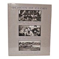 """Vintage Historical Books ~ Boxed Set of Three Books ~ """"Echoes of Glory"""" ~ By the Editors of Time-Life ~ 1998 ~ Civil War"""