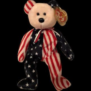 Spangle American ty bear