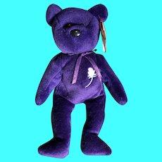Memorial bear for lady Diana