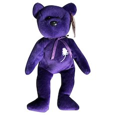 Memorial bear for lady Diana