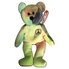 96 rare retired Peace Ty bear