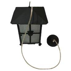 Antique hanging lantern lamp