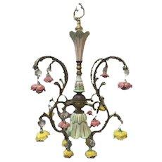 Modernist chandelier pendant