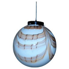 Spectacular and rare triplex murano ball sphere