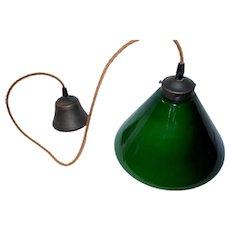 Industrial style triplex glass pendant lamp