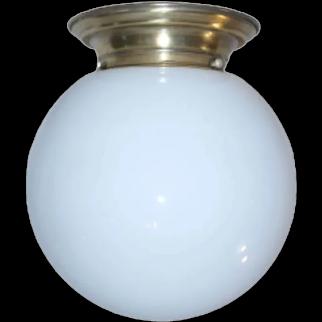 1930s Art Déco ceiling lamp