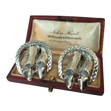 Vintage Snake Earrings, Costume Snake Earrings, Snake Jewellery, Snake design earrings, divine pair.
