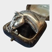 Vintage Horse Brooch, Equestrian Brooch, Horse Jewellery, a horse lover's dream