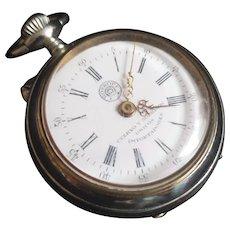 Vintage Cuervo Y Sobrinos Pocket Watch