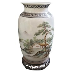 Vintage Hand painted Chinese Vase